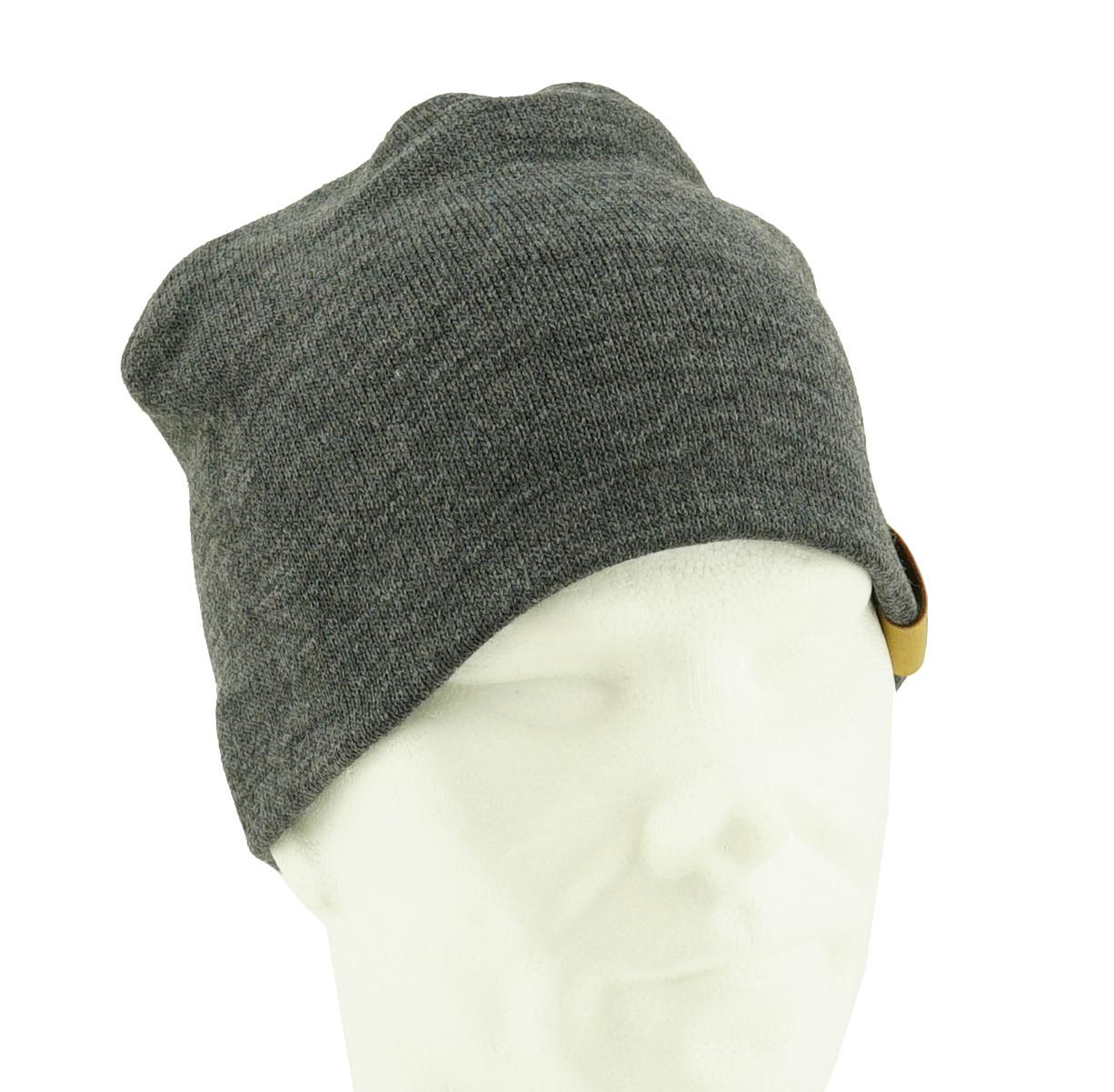 Topfanz Bonnet business dark gris - M