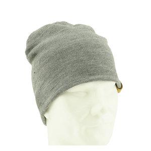 Business beanie light grey - L