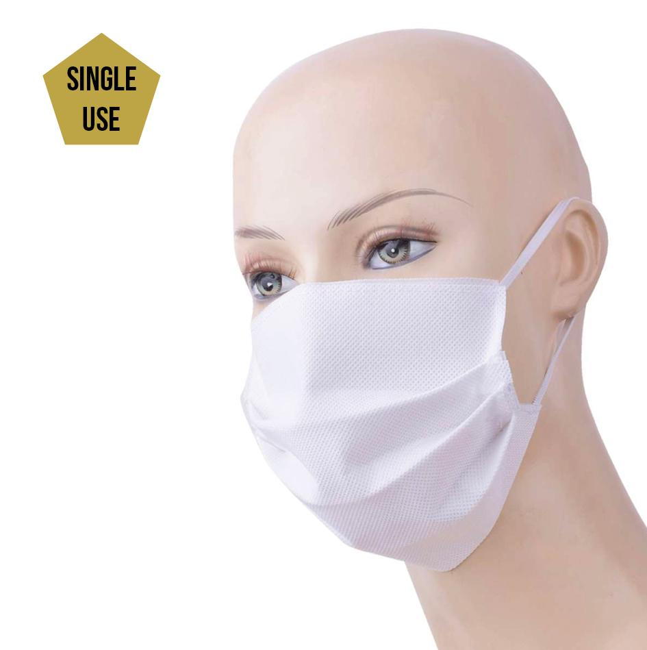 Topfanz Non-woven mask single use  (50 pieces)