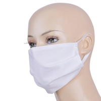 Topfanz Reusable Face mask Cotton (White)