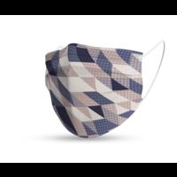 Topfanz Mondmasker trendy geometrisch neutraal