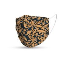Topfanz Mondmasker trendy art nouveau patroon