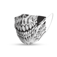 Topfanz Mondmasker trendy skull
