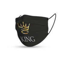 Topfanz Mondmasker black king