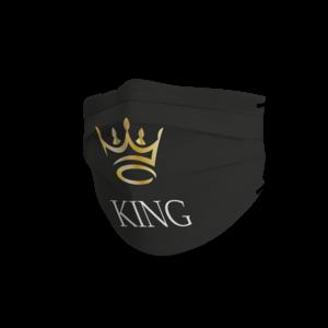 Face mask black king