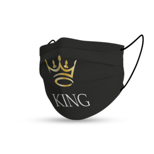 Masque black king