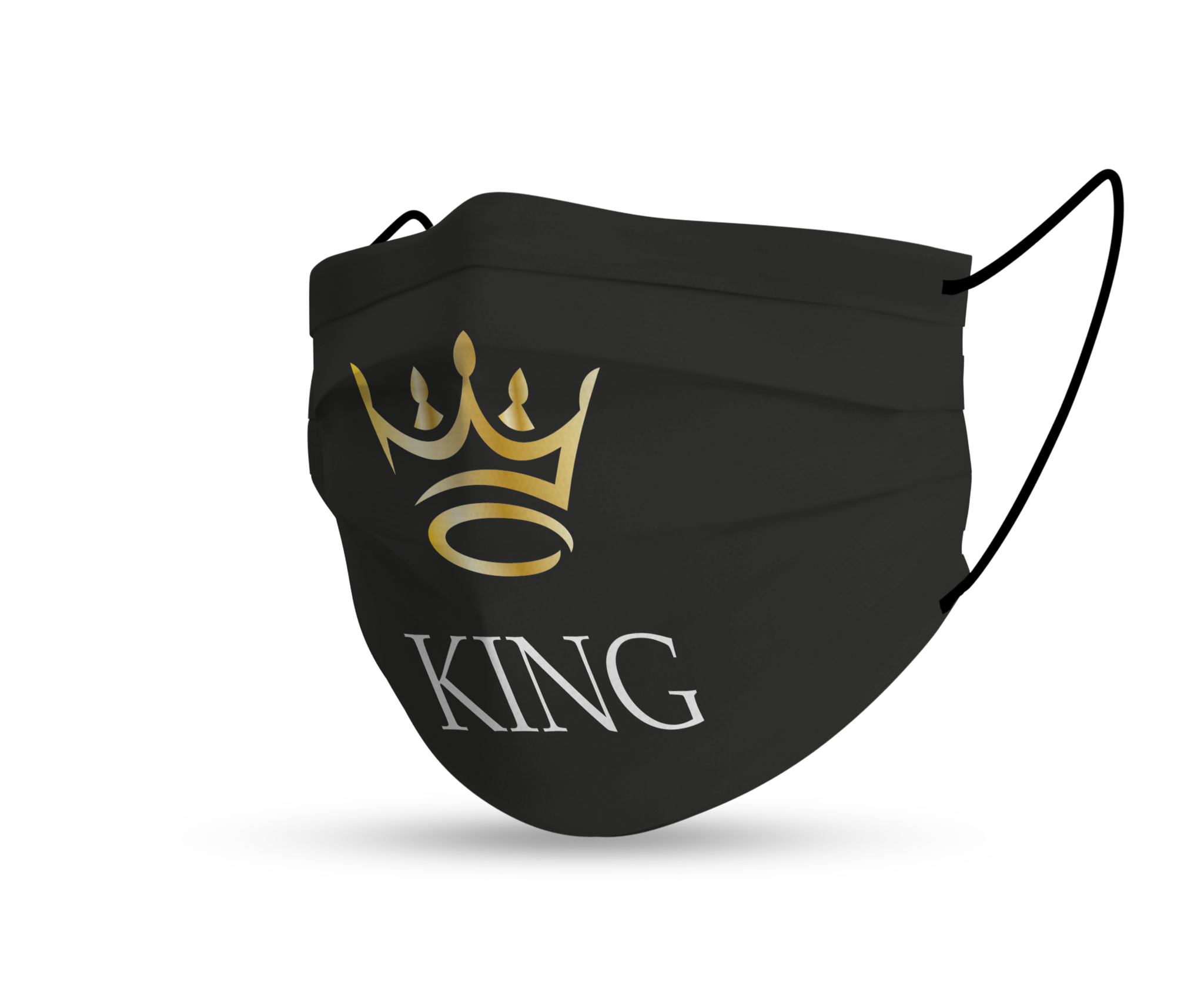 Topfanz Face mask black king