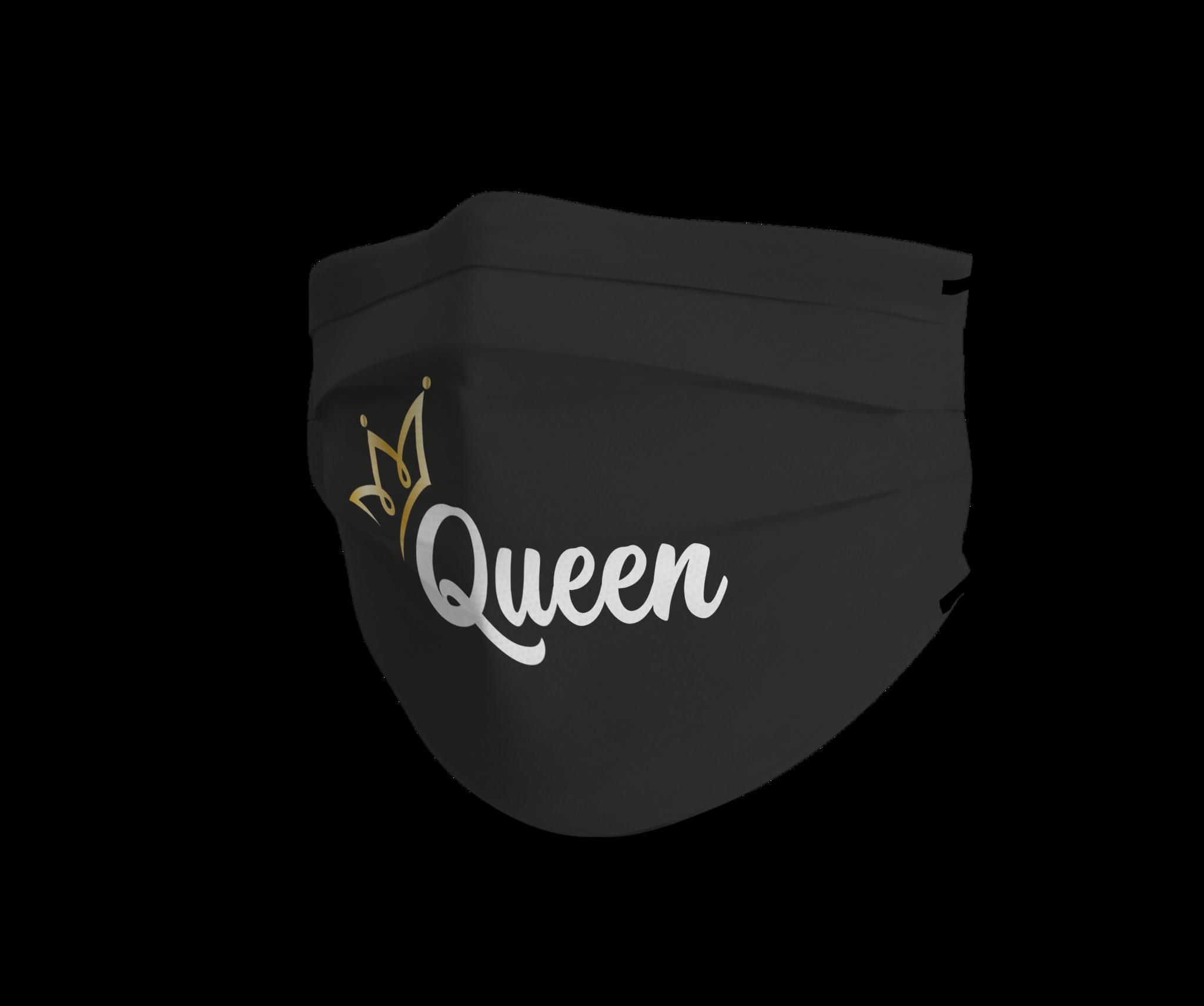 Topfanz Mondmasker black queen