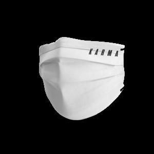 Face mask trendy karma white