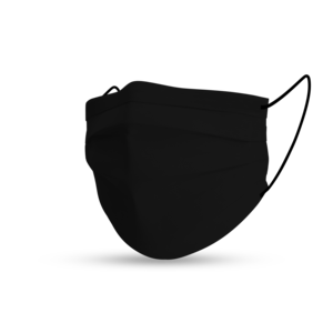 Masque black cotton pure black