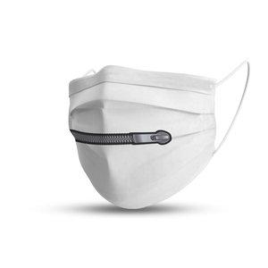 Mondmasker trendy zip