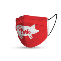 Topfanz Face mask pull my pork
