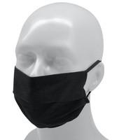 Topfanz Herbruikbaar mondmasker volwassenen - zwart