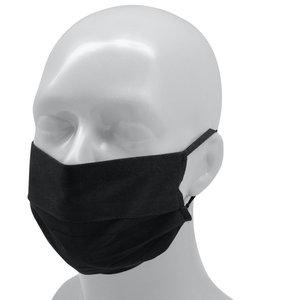 Masque Polyester Réutilisable (Adulte) - noir