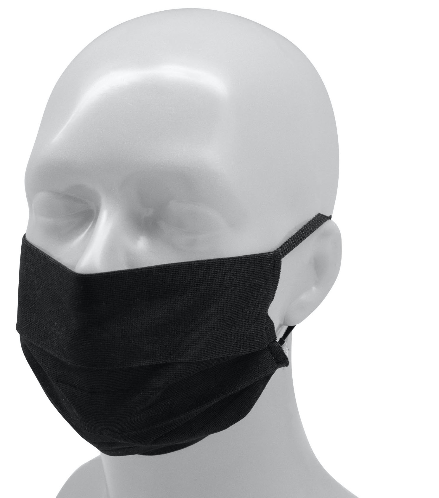 Topfanz Reusable Face mask Polyester (Adult) - black