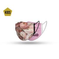 Topfanz Face mask kids pink set (2x)