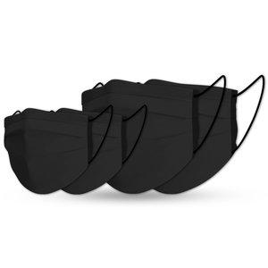 Masque family black cotton set (4x)