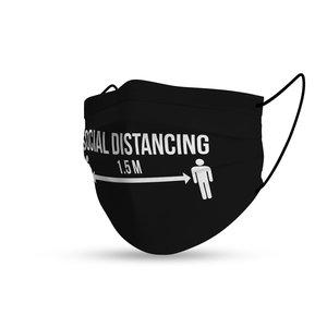 Mondmasker Social Distancing 1,5m