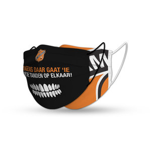 Masque FC Volendam orange/noir set (x2)