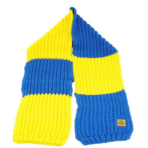 Echarpe retro tricotée