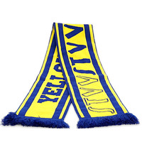 Topfanz Sjaal Yellow Blue Army