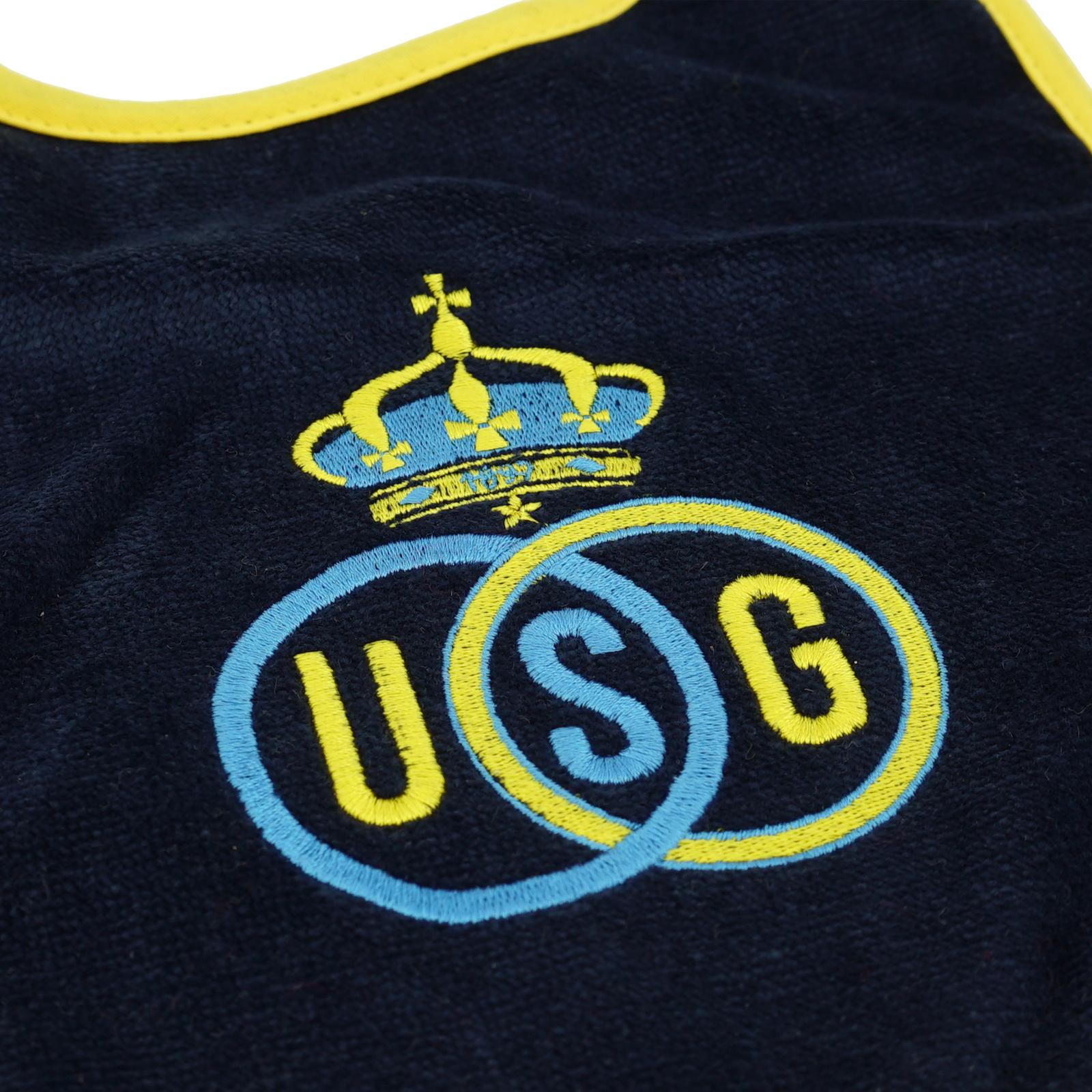 Topfanz Baby bib logo Union Saint-Gilloise