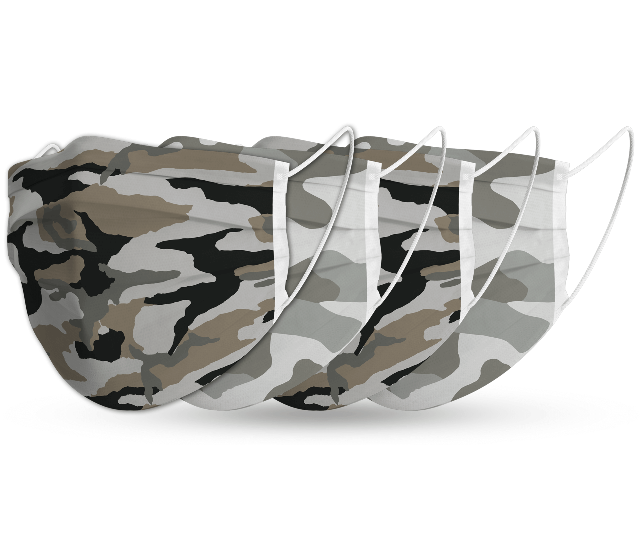 Topfanz Face mask camo set (4x)