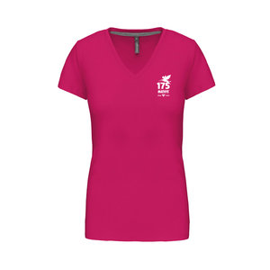 T-shirt V roze Mathys 175 jaar woman