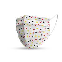 Topfanz Mondmasker trendy Belgische hartjes