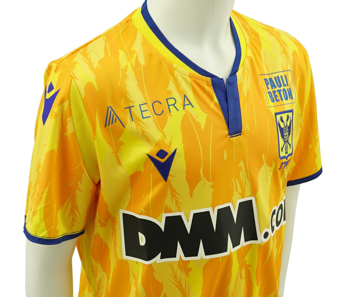 Official Game jersey STVV Yellow Kids 2020-2021