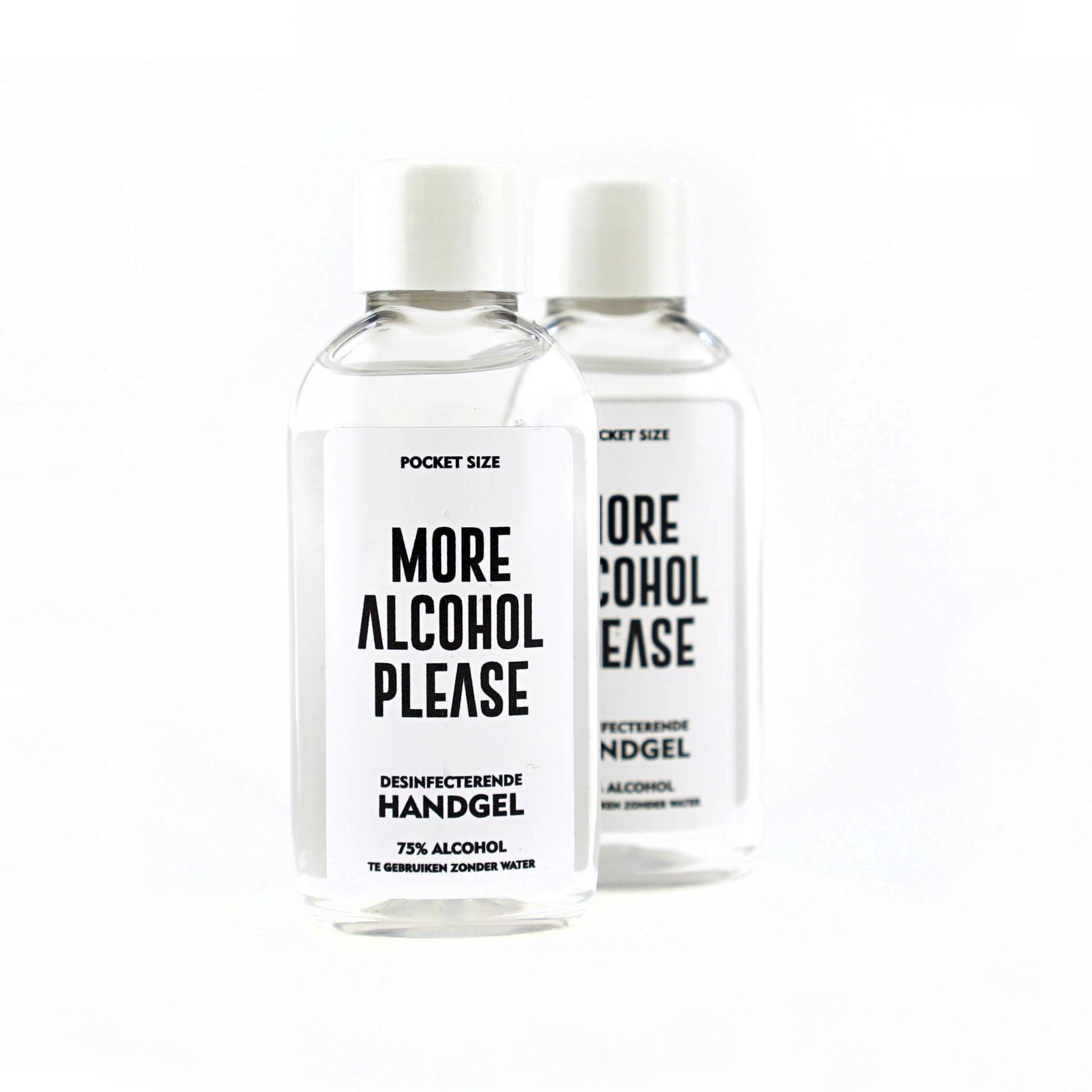 Topfanz Duopack alcoolgel de poche - More Alcohol Please