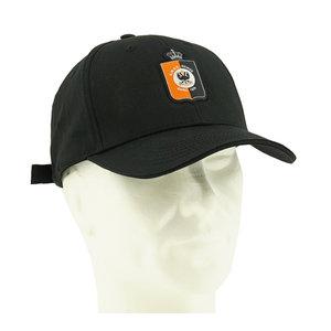 Black cap logo