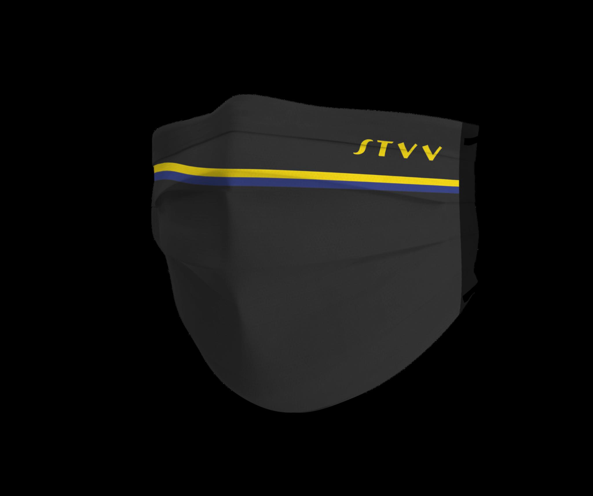 Topfanz Mondmasker STVV set (x2) donker neutraal