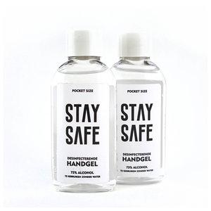 Duopack alcoolgel de poche - Stay Safe