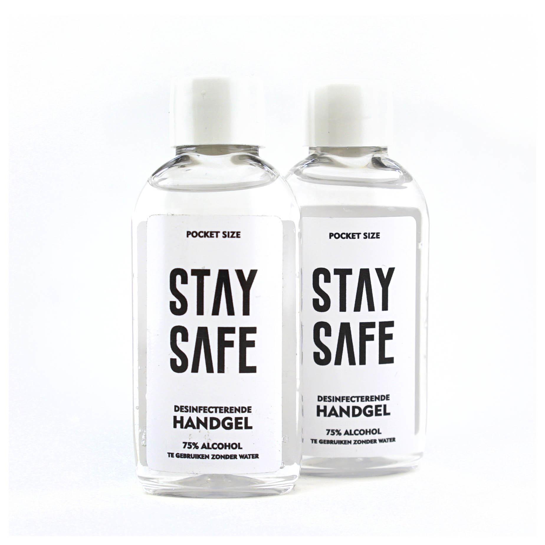 Topfanz Duopack alcoolgel de poche - Stay Safe