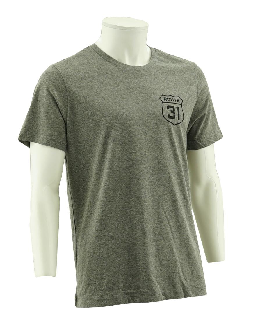 Topfanz T-shirt grijs Route 31 - KV Oostende