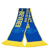 Sjaal Trouw aan geel blauw