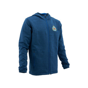 Fleece blauw-meléé Uhlsport