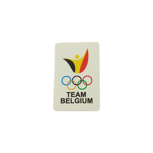Stickers Team Belgium - 10 pak