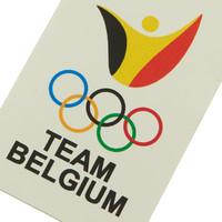 Stickers Team Belgium - 10 pak
