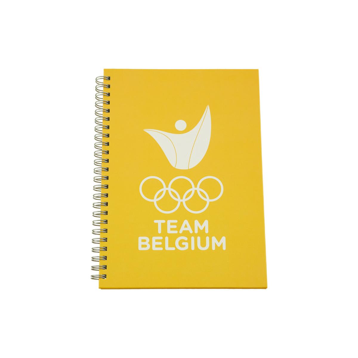 Notebook Team Belgium