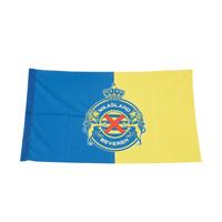 Flag Blue Yellow Logo