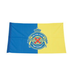 Flag Blue Yellow Logo
