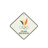 Auto teken Team Belgium