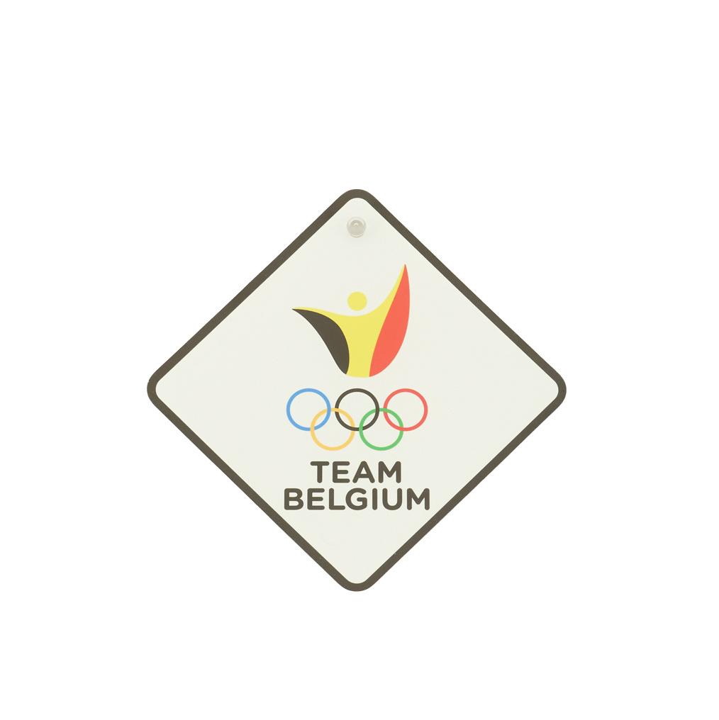 Car sign Team Belgium