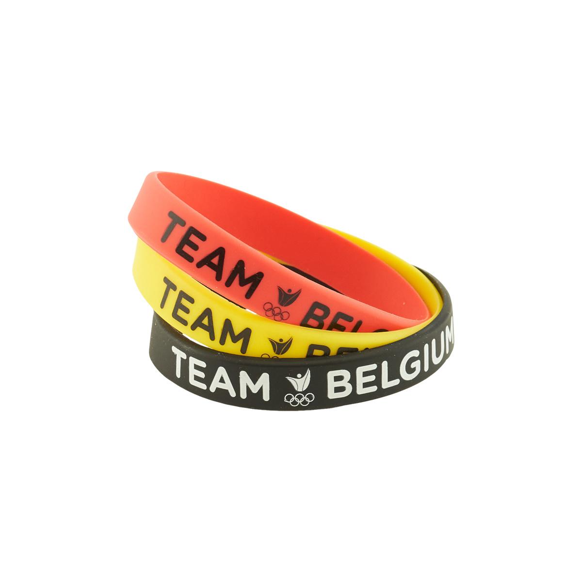 Topfanz Wristband Team Belgium - 3 pak