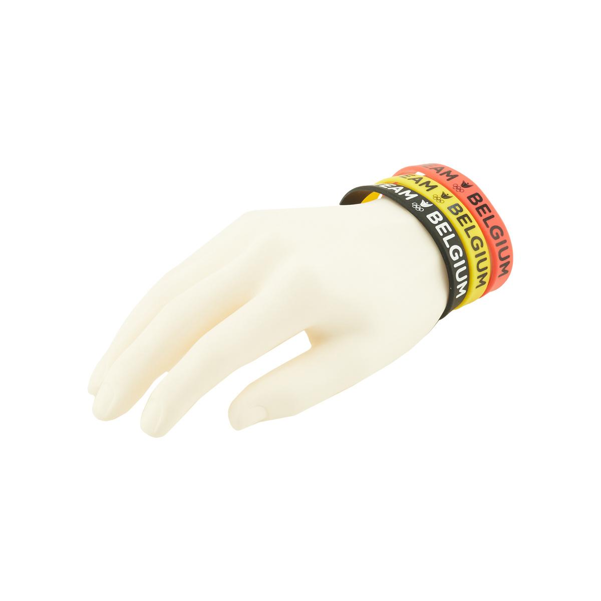 Bracelets Team Belgium 3 pièces