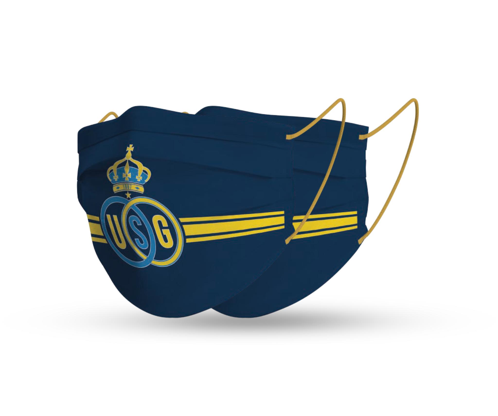 Topfanz Mondmaskers Union logo (x2)