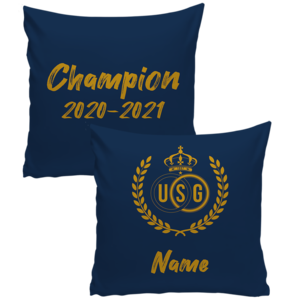 Personalised bed pillow Champion 2020-2021