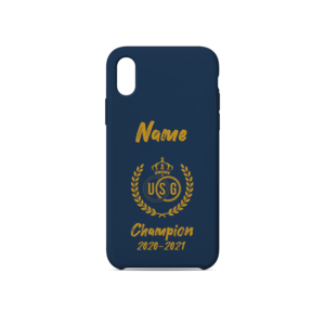 Personalised  phone cover Champion 2020-2021
